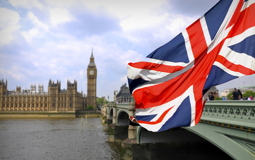GB Flag w Big Ben
