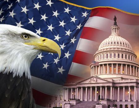 38550105 - patriotic symbols of the united states of america